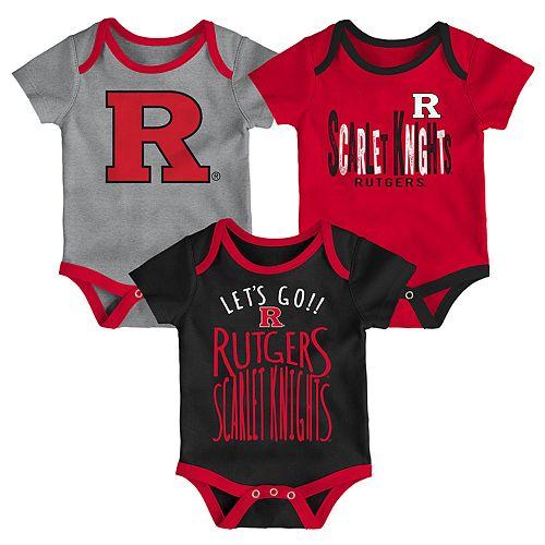 Baby Rutgers Scarlet Knights Little Tailgater Bodysuit Set