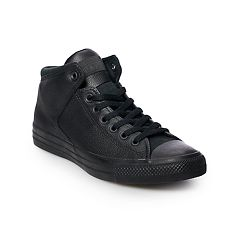 Women's These _ Chuck Taylor All Star High Street shoes will become a wardrobe staple. Chuck Taylor All Star High Street Leather Sneakers