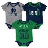 Baby Notre Dame Fighting Irish Little Tailgater Bodysuit Set