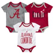 Baby Alabama Crimson Tide Little Tailgater Bodysuit Set