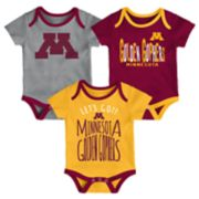 Baby Minnesota Golden Gophers Little Tailgater Bodysuit Set
