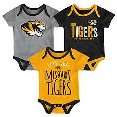 Baby Missouri Tigers Little Tailgater Bodysuit Set