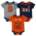 Baby Syracuse Orange Little Tailgater Bodysuit Set