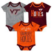 Baby Virginia Tech Hokies Little Tailgater Bodysuit Set