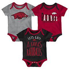 Baby Arkansas Razorbacks Little Tailgater Bodysuit Set