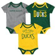 Baby Oregon Ducks Little Tailgater Bodysuit Set