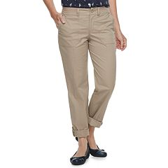 Women's Croft & Barrow® Convertible Twill Pants
