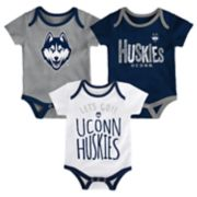 Baby UConn Huskies Little Tailgater Bodysuit Set