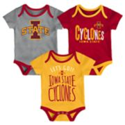 Baby Iowa State Cyclones Little Tailgater Bodysuit Set