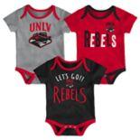 Baby UNLV Rebels Little Tailgater Bodysuit Set