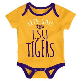 Baby LSU Tigers Little Tailgater Bodysuit Set