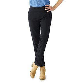 Women's Croft & Barrow® Effortless Stretch Pull-On Pants