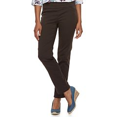 Women's Croft & Barrow® Effortless Stretch Pull-On Pants