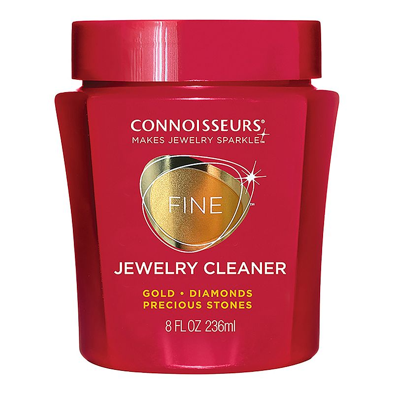 Connoisseurs Precious Jewelry Cleaner, Red Keep your jewelry collection looking brilliant with this Connoisseurs jewelry cleaner. Includes: dip tray & touch-up brush For gold, platinum, diamonds & precious stones 8 fl. Oz. Imported Size: One Size. Color: Red. Gender: Female.