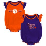 Baby Girl Clemson Tigers Homecoming Bodysuit Set