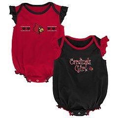 Baby Girl Louisville Cardinals Homecoming Bodysuit Set
