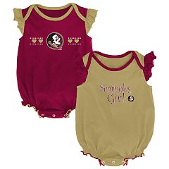Baby Girl Florida State Seminoles Homecoming Bodysuit Set