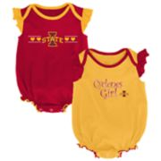 Baby Girl Iowa State Cyclones Homecoming Bodysuit Set