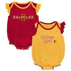 Baby Girl Iowa State Cyclones Homecoming Bodysuit Set