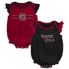 Baby Girl South Carolina Gamecocks Homecoming Bodysuit Set