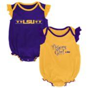 Baby Girl LSU Tigers Homecoming Bodysuit Set