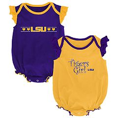 Baby Girl LSU Tigers Homecoming Bodysuit Set