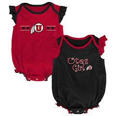 Baby Girl Utah Utes Homecoming Bodysuit Set