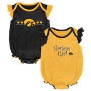 Baby Girl Iowa Hawkeyes Homecoming Bodysuit Set