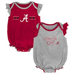 Baby Girl Alabama Crimson Tide Homecoming Bodysuit Set