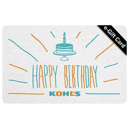 Birthday Cake E Gift Card