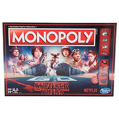 Monopoly Stranger Things Edition by Hasbro Games