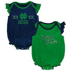 Baby Girl Notre Dame Fighting Irish Homecoming Bodysuit Set