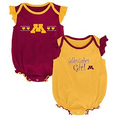 Baby Girl Minnesota Golden Gophers Homecoming Bodysuit Set