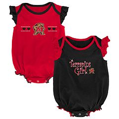 Baby Girl Maryland Terrapins Homecoming Bodysuit Set