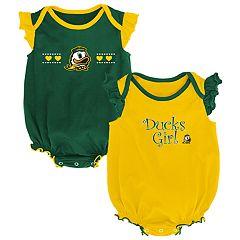 Baby Girl Oregon Ducks Homecoming Bodysuit Set