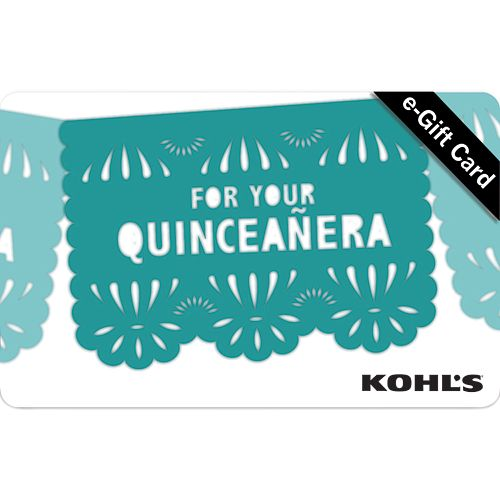 quinceanera banner e gift card