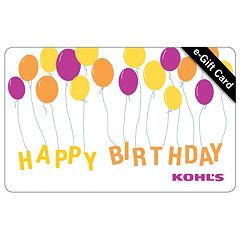 Birthday Balloons E-Gift Card