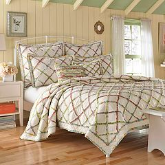 Laura Ashley Lifestyles Ruffle Garden Quilt