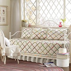 Laura Ashley Lifestyles Ruffle Garden 5-piece Daybed Set