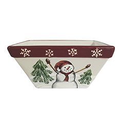 St. Nicholas Square® Yuletide Square Cereal Bowl
