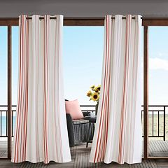 Madison Park Bolinas Stripe Outdoor Curtain