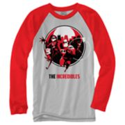 Disney / Pixar's The Incredibles Go Team Raglan Tee