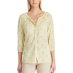 Women's Chaps Tropical Floral Shirt