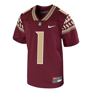 low priced e6a10 c0baf Toddler Nike Black Florida State Seminoles Football Icon T-Shirt
