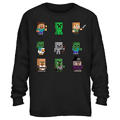 Boys 8-20 Minecraft Group Tee