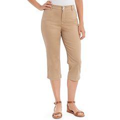 Women's Gloria Vanderbilt Julia Mid-Rise Trouser Capris