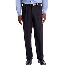 Men's Haggar® Work to Weekend® PRO Stretch Relaxed-Fit Pleated Casual Pants