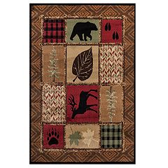 United Weavers Woodside Hunter's Patchwork Rug