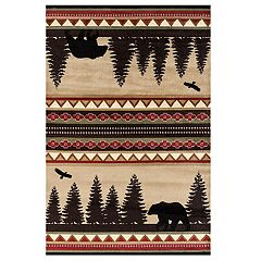 United Weavers Woodside Bear Stride Rug