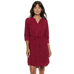 Women's Apt. 9® Placket Shirtdress